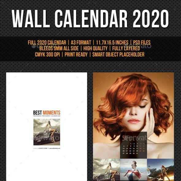 Wall Calendar 2020 V23