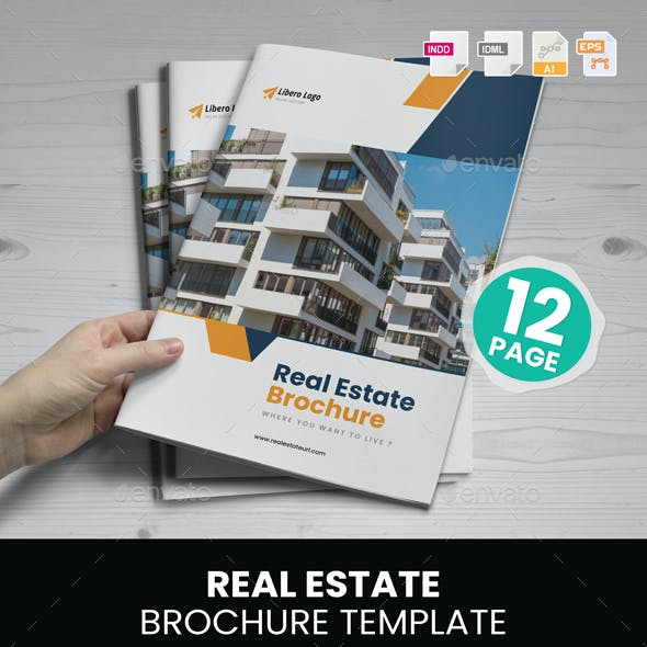 Real Estate Brochure Design v6