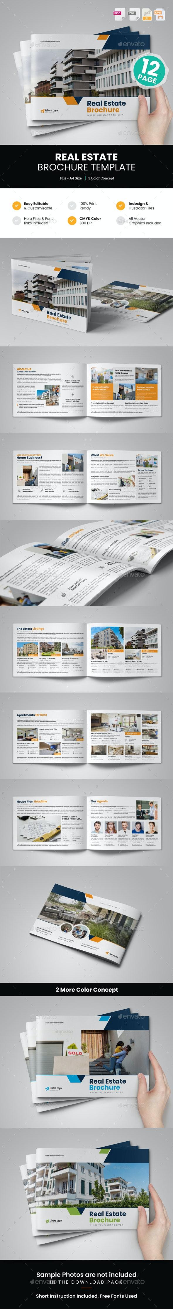 Real Estate Brochure Design v7 - Corporate Brochures