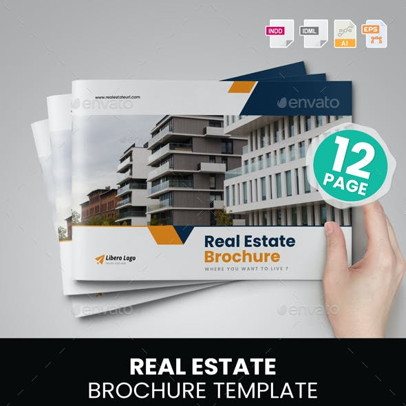 Real Estate Brochure Design v7