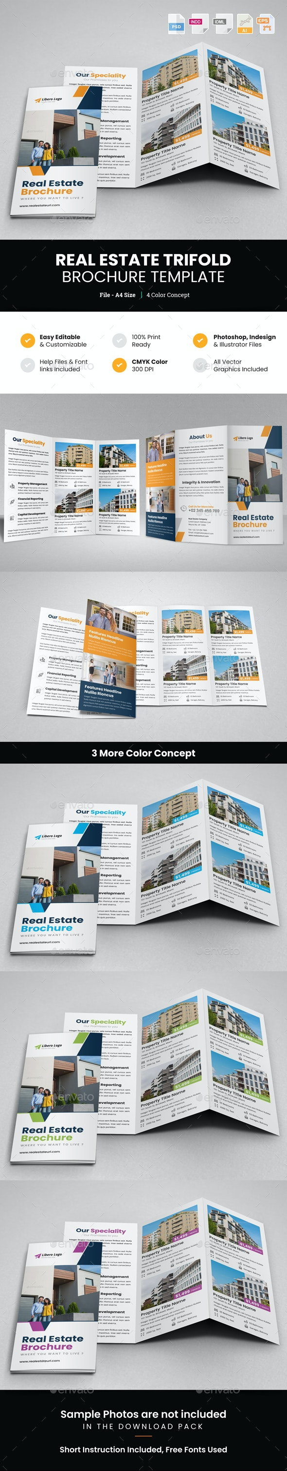 Real Estate Trifold Brochure v1 - Corporate Brochures
