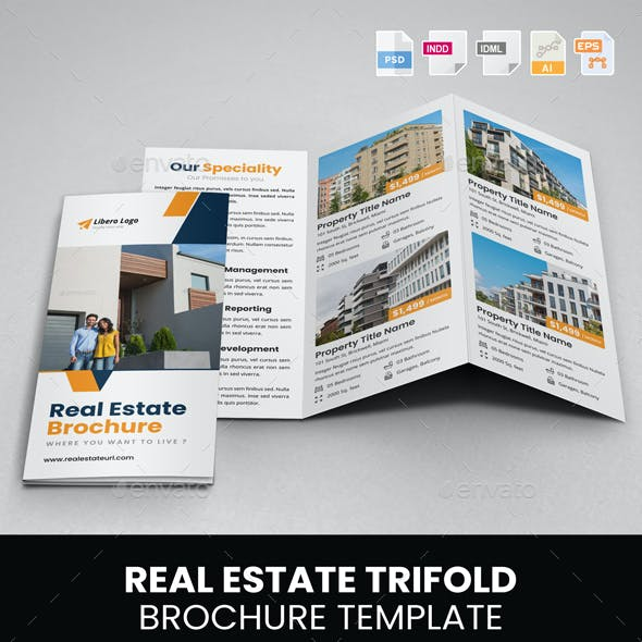 Real Estate Trifold Brochure v1