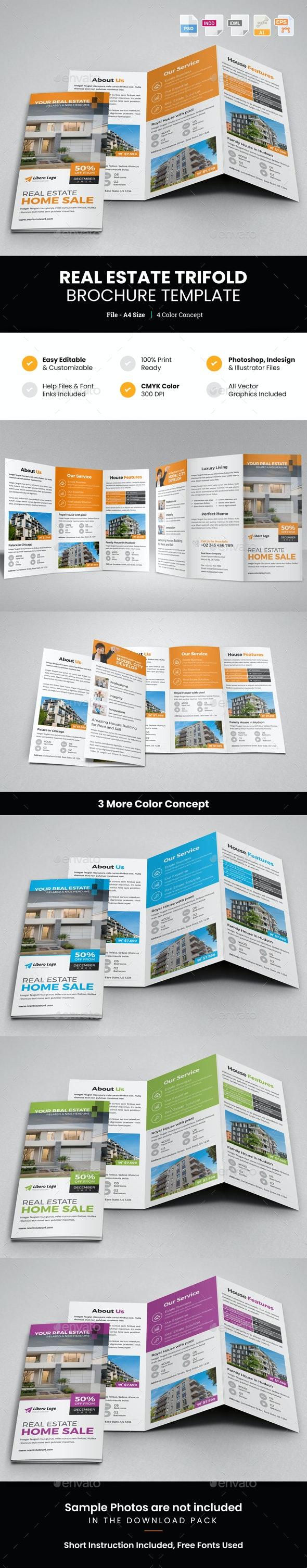 Real Estate Trifold Brochure v2 - Corporate Brochures