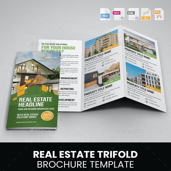 Real Estate Trifold Brochure v3