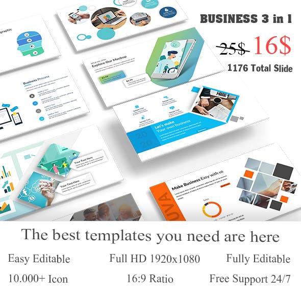 Bundle Business Best 3 in1 Google Slide Template