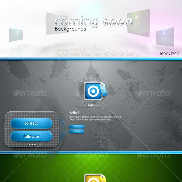 coming soon - backgrounds