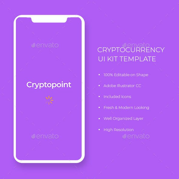 Cryptocurrency UI Kit