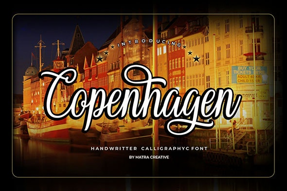 Copenhagen - Calligraphy Script