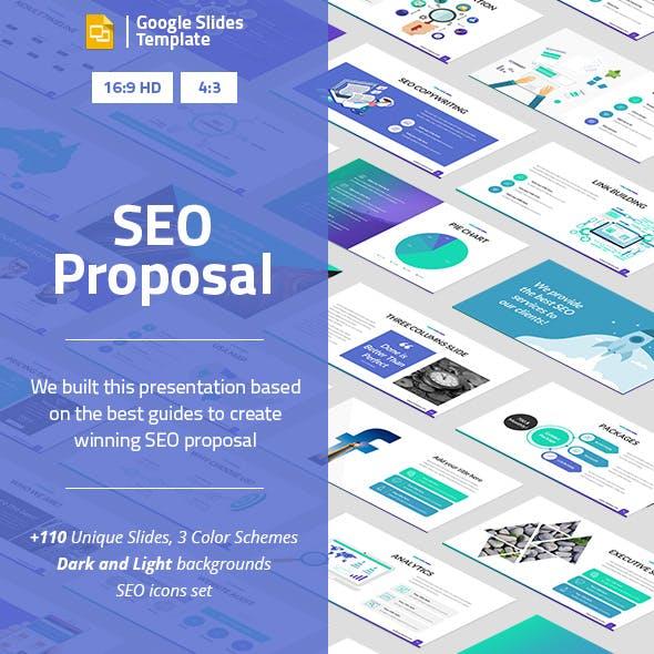 SEO Proposal Google Slides Presentation Template