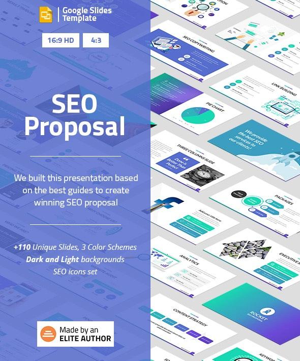 SEO Proposal Google Slides Presentation Template - Google Slides Presentation Templates