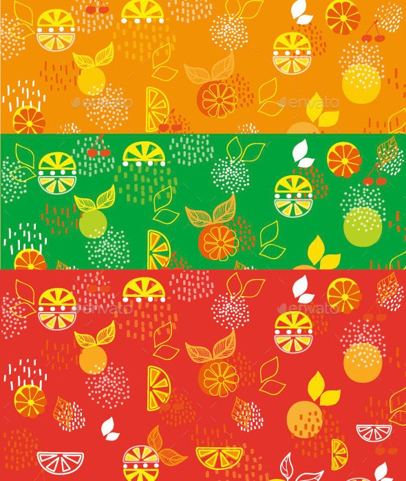 Background Lemon and Orange - Backgrounds Graphics