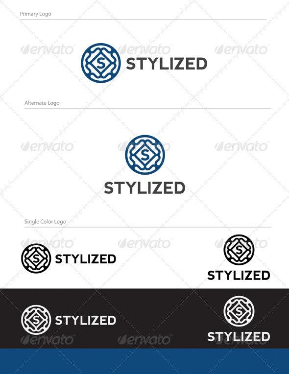 Stylized Logo Design - LET-022 - Letters Logo Templates