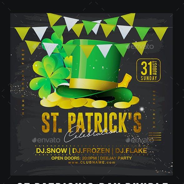 St. Patrick's Day Flyer Bundle