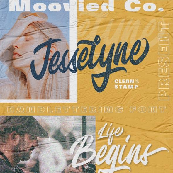 Jesselyne Script (Clean & Rough)
