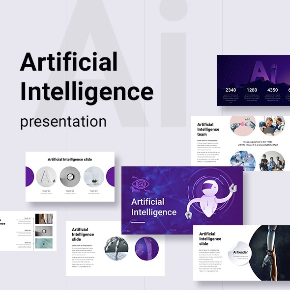 Artificial Intelligence PowerPoint Template - Business PowerPoint Templates