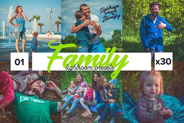 Family & Children Lightroom Presets - Portrait Lightroom Presets