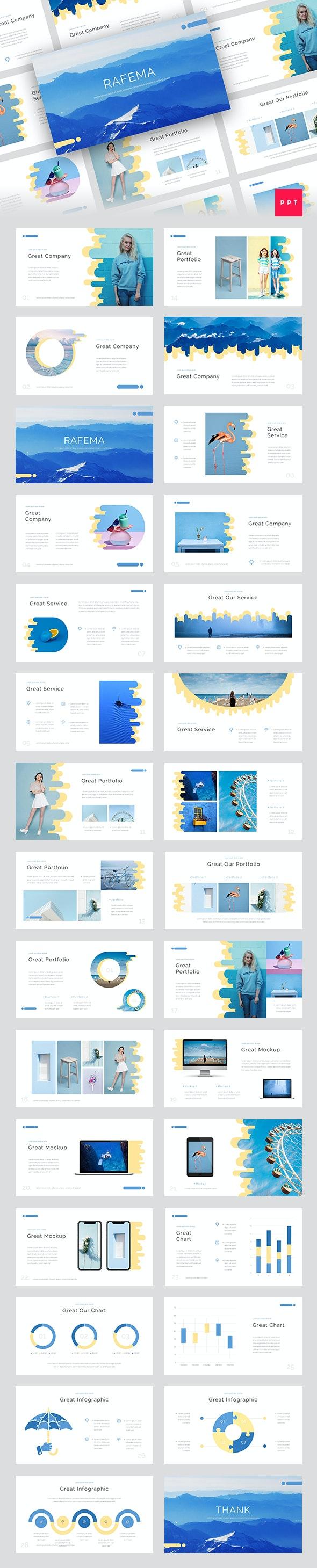 Rafema - Creative PowerPoint Template - Creative PowerPoint Templates