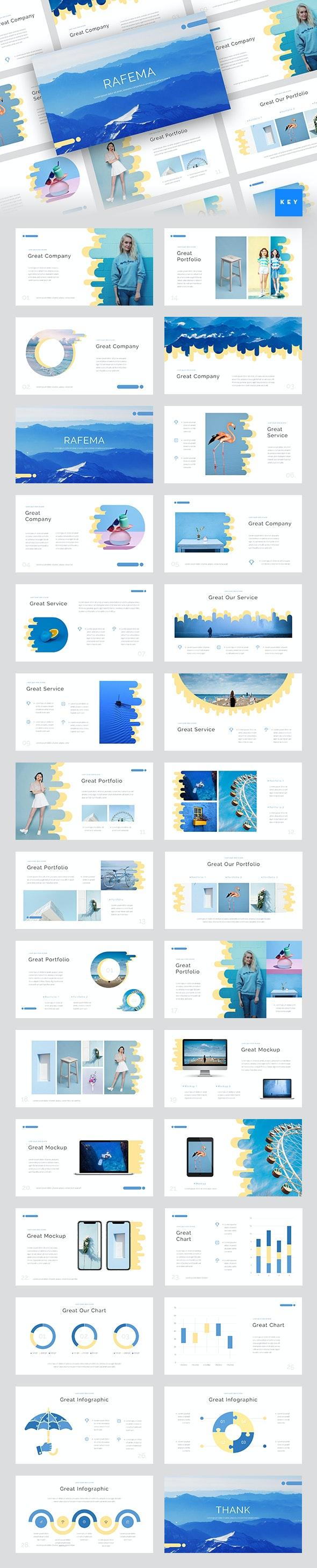 Rafema - Creative Keynote Template - Creative Keynote Templates