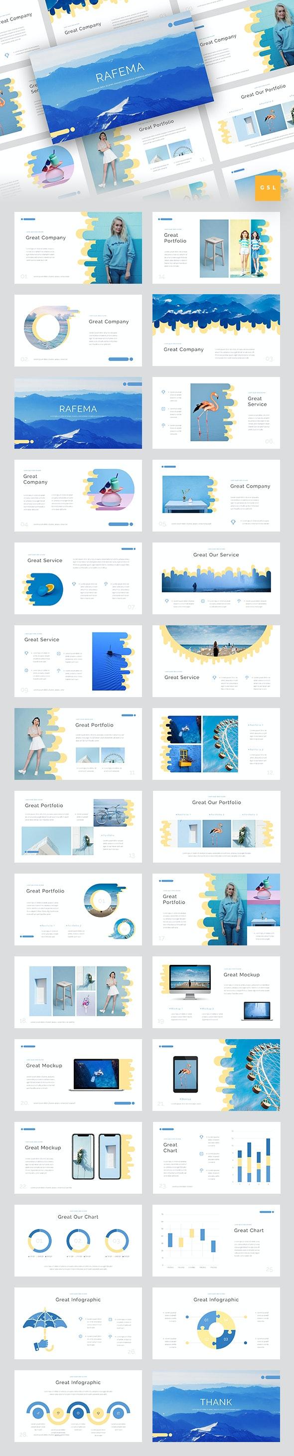 Rafema - Creative Google Slides Template - Google Slides Presentation Templates