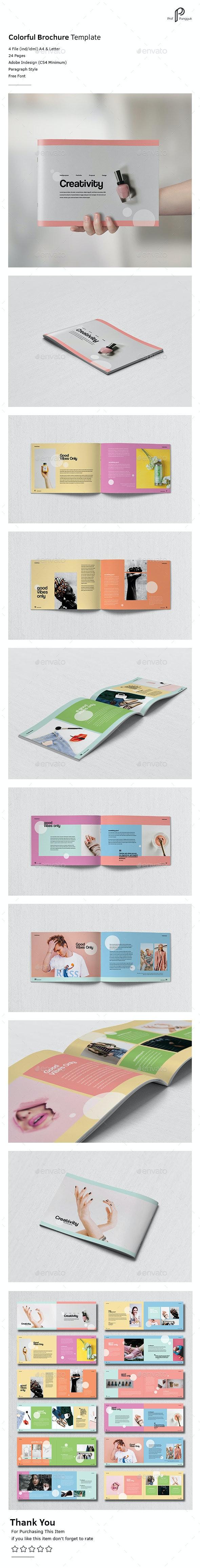 Colorful Brochure Vol.4 - Portfolio Brochures