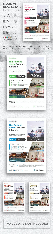 Modern Real Estate Flyer - Commerce Flyers