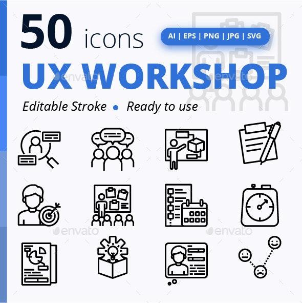 Ux Workshop - Technology Icons