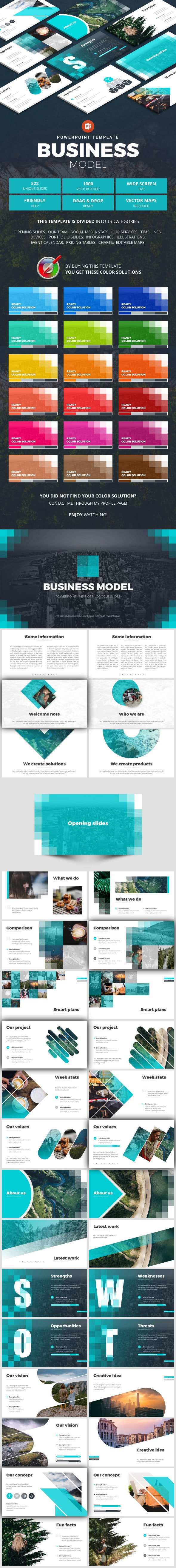 Business Template - Business PowerPoint Templates