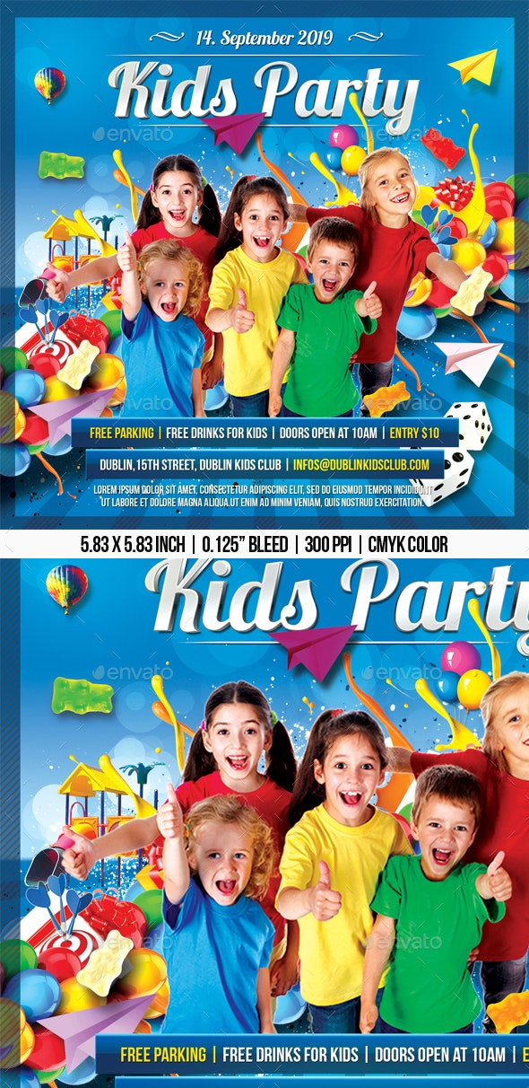 Kids Party - Clubs & Parties Events