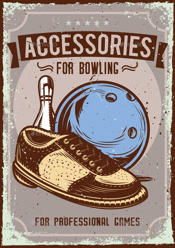 Bowling Background - Sports/Activity Conceptual