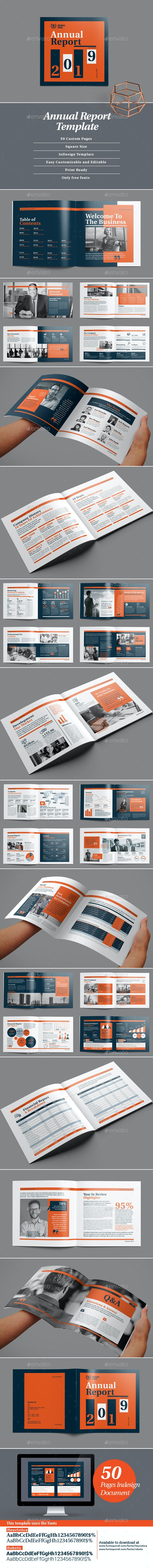 Square Annual Report - Corporate Brochures