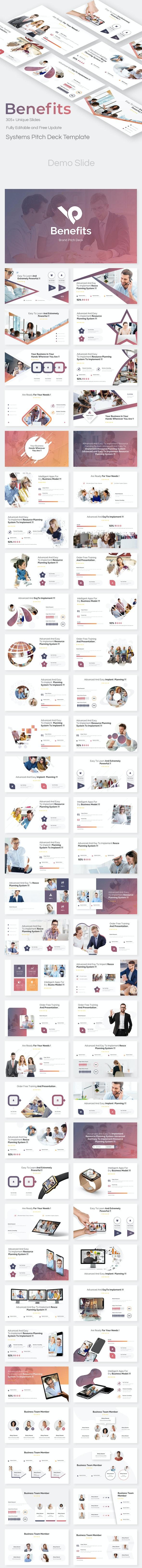 Brand Benefits Pitch Deck Google Slide Template - Google Slides Presentation Templates