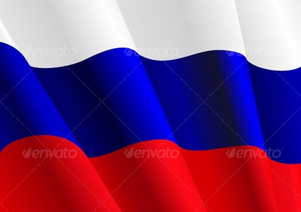 Flag of Russia - Decorative Vectors