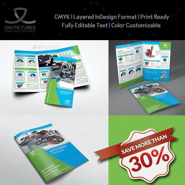 Auto Parts Catalog Brochure Bundle Template Vol.3