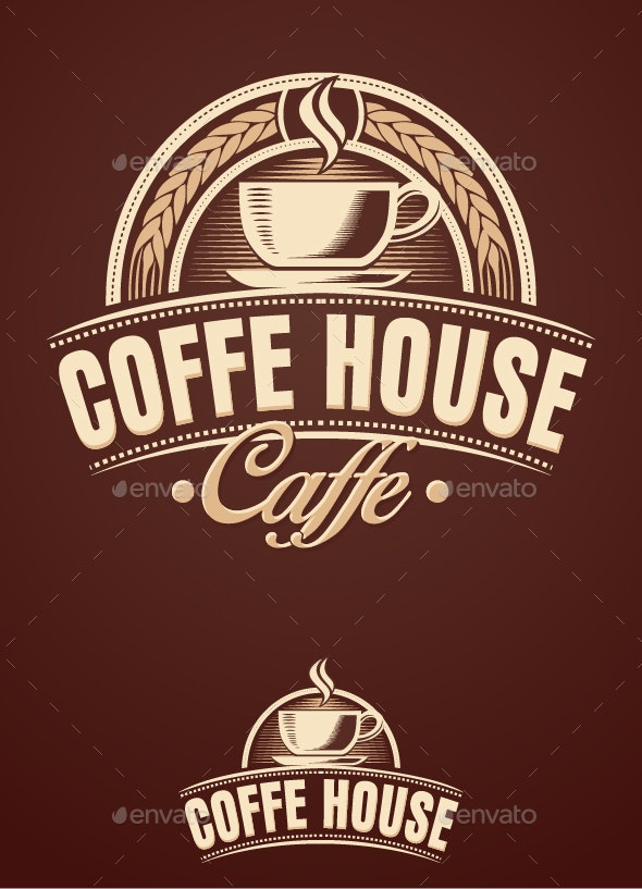 Coffee House Cafe - Decorative Symbols Decorative