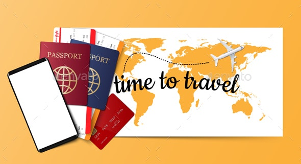 Travel Background - Travel Conceptual