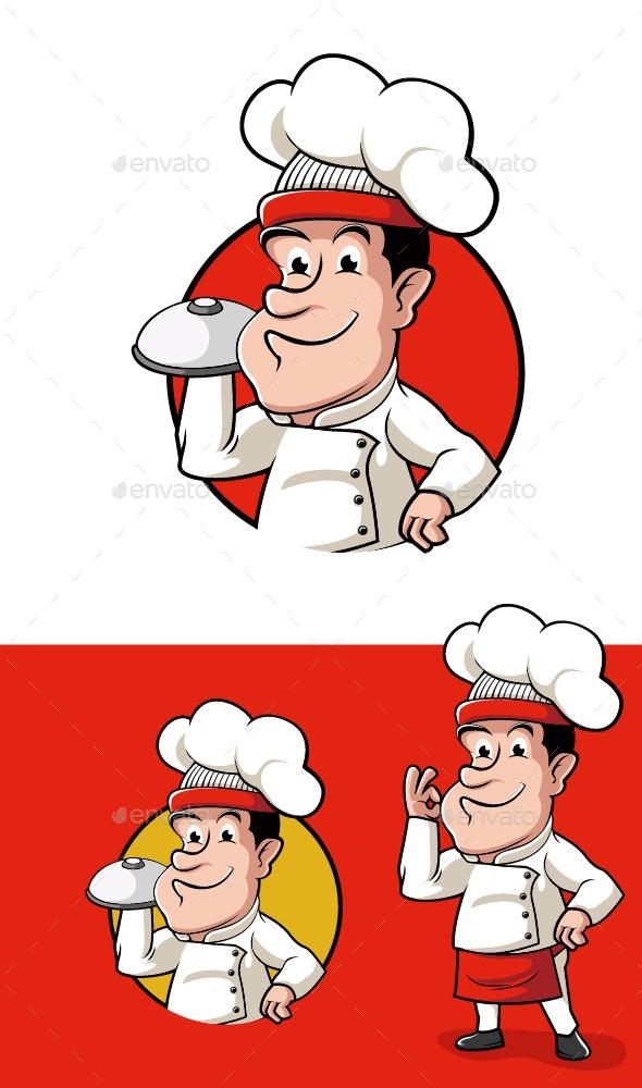 Chef Koki - People Characters
