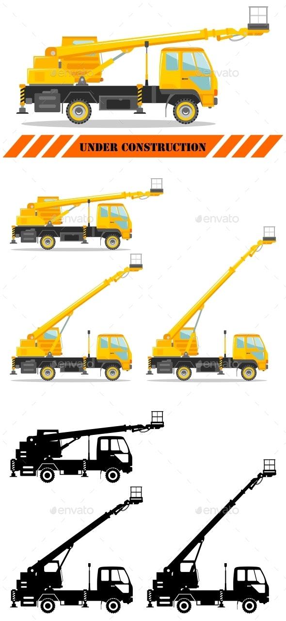 Aerial Platform Truck - Industries Business