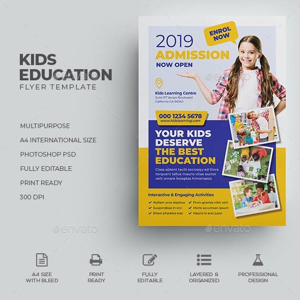 Kids Education Flyer