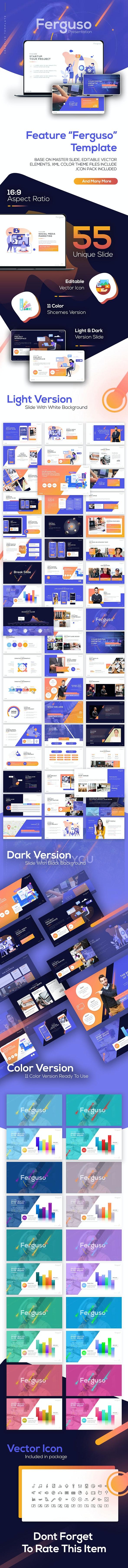 Ferguso - Creative PowerPoint Template - PowerPoint Templates Presentation Templates