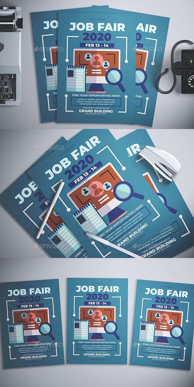 Job Fair Flyer - Flyers Print Templates