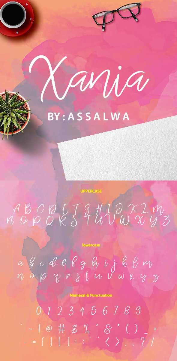 Xania - Hand-writing Script