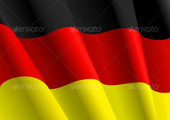Flag of Germany - Decorative Vectors
