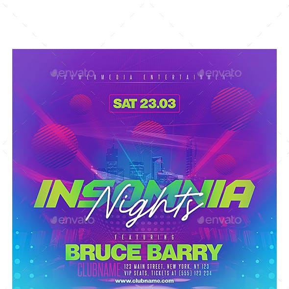 Colorful Party Flyer