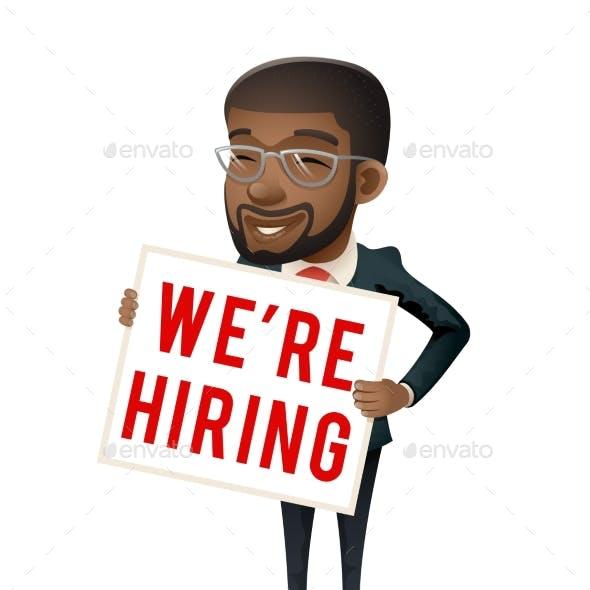 Personnel Recruiter Businessman