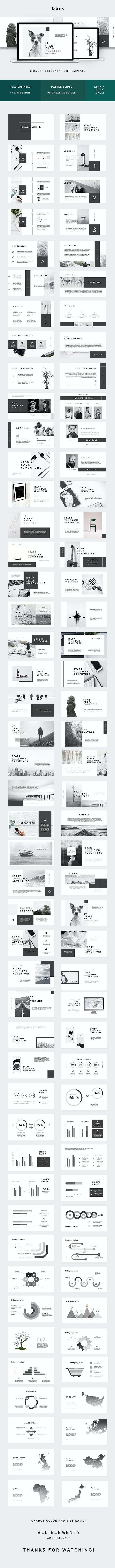 Minimal Creative Powerpoint - PowerPoint Templates Presentation Templates