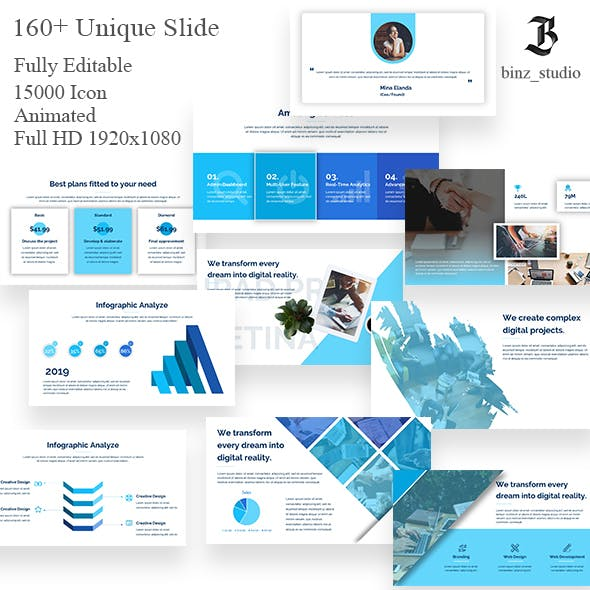 Mapileng Business PowerPoint Template