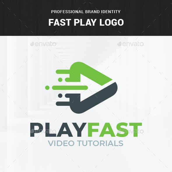 Fast Play Logo Template