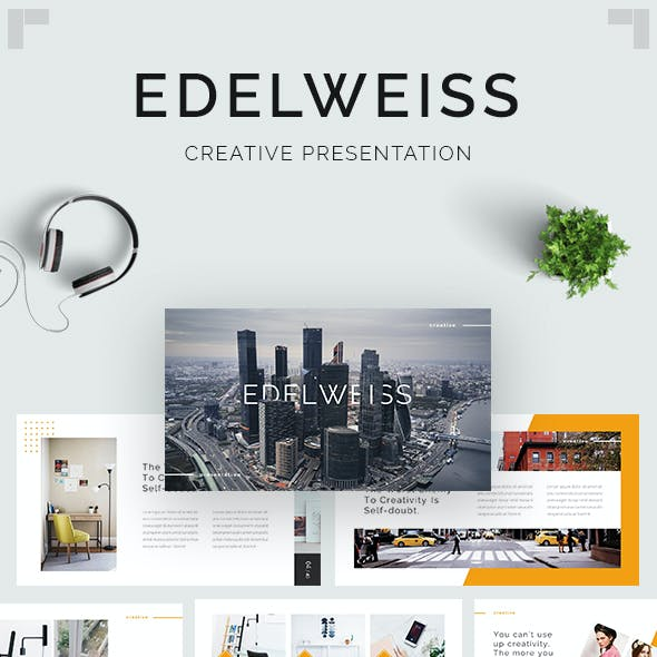 Edelweiss - Creative PowerPoint Template