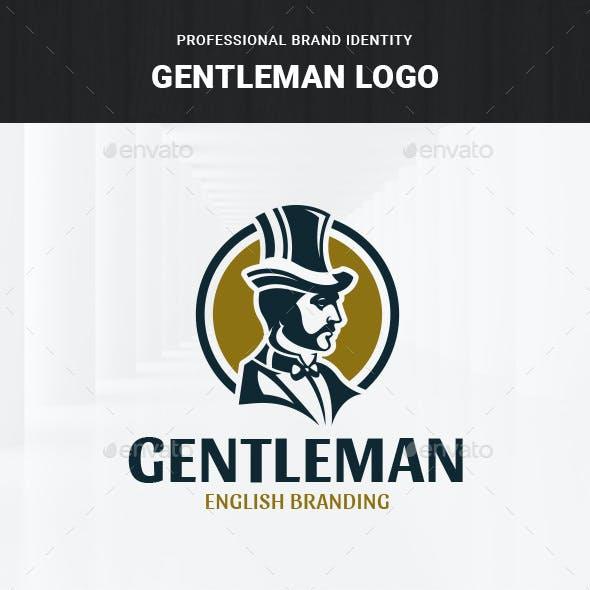 Gentleman Logo Template