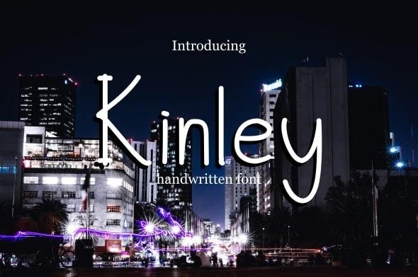 Kinley Font - Handwriting Fonts